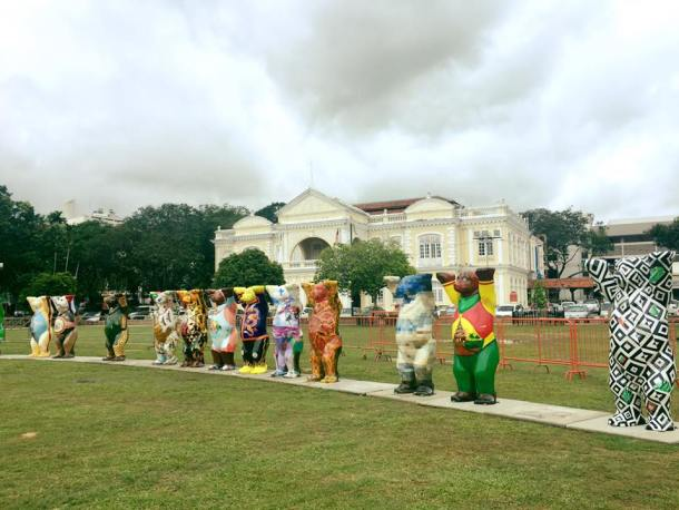 United Buddy Bears in Penang Padang Kota Lama