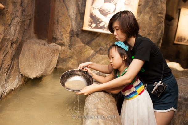Gold panning with Nicole Chang