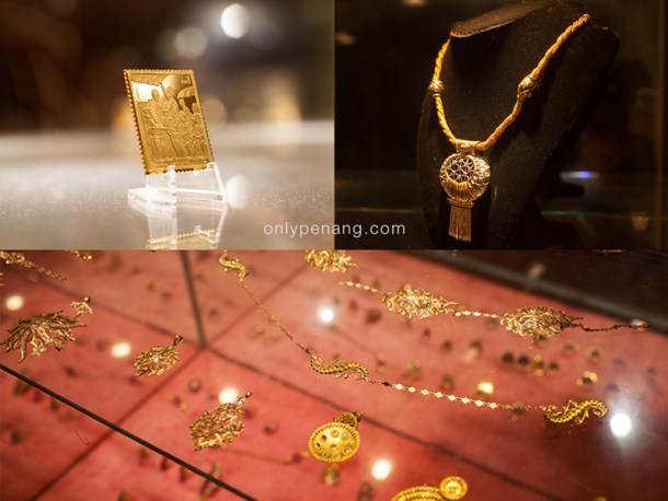 Gold Stamp, Ancient Gold Jewellery Pieces