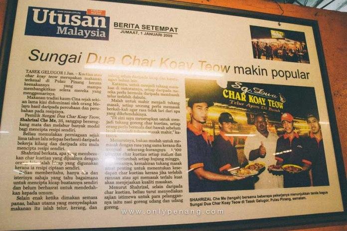 Sg Dua Char Koay Teow In Butterworth, Telur Ayam Di Basuh 6
