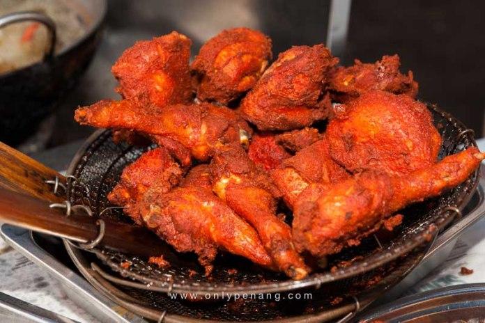 Arab style fried chicken, taste so good!