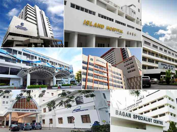 Private Penang Hospitals as medical tourism destination