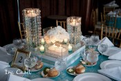 Tiers & Crystal Centerpiece