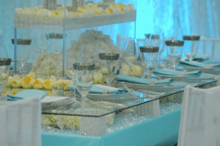 All White Event, from Food to Decor