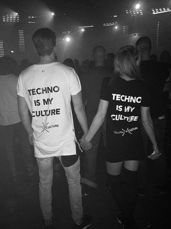 Techno girl