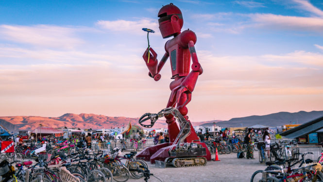 Burning Man announces I, Robot theme for 2018