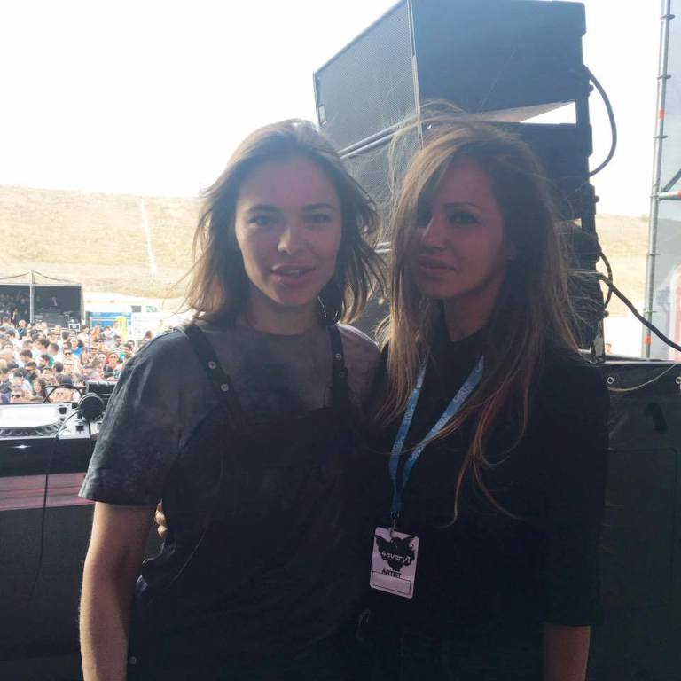 Nina Kraviz and Deborah De Luca are collaborating on a new release