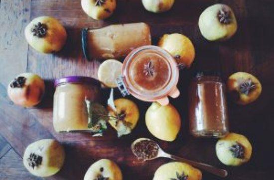 Confitures et gelée de pommes
