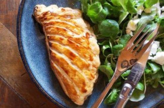 chausson feuilleté fromage à raclette et jambon cru