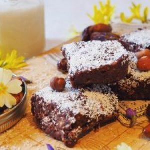 brownie cru, vegan, sans gluten