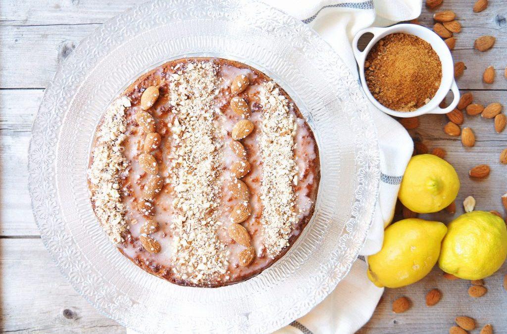 Gâteau aux amandes ou amandier, vegan et sans gluten