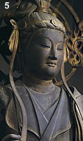 Daibenkudokuten at Sanjusangendo in Kyoto, Kamakura Period