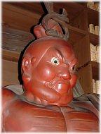 Ungyo at Hase Dera Temple, Kamakura