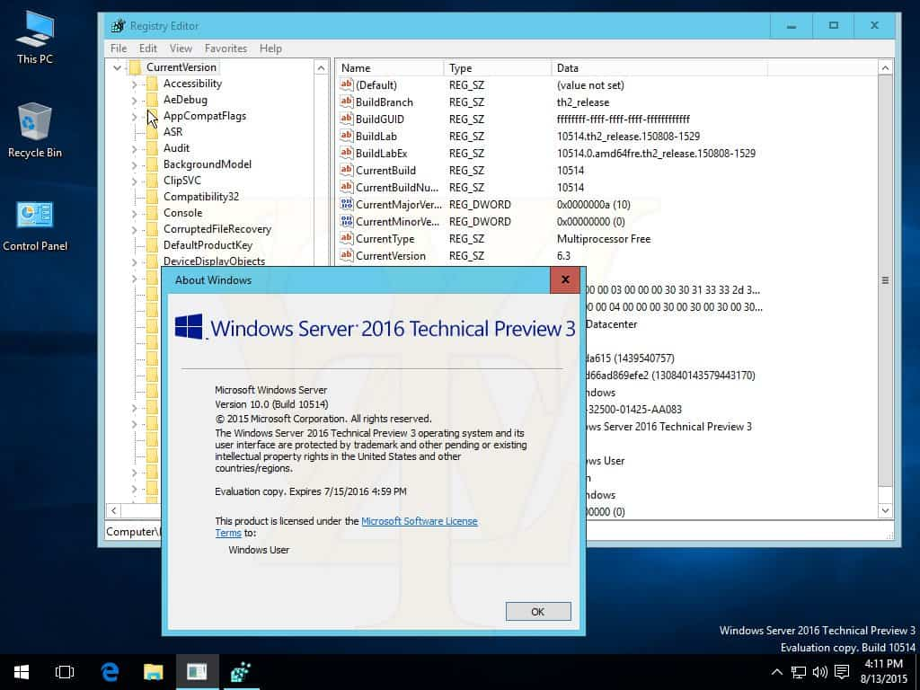 Windows Server 2016 build 10514 ISO leaks OnMSFT com