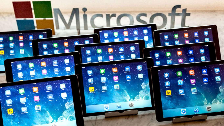 Microsoft Office apps on iOS