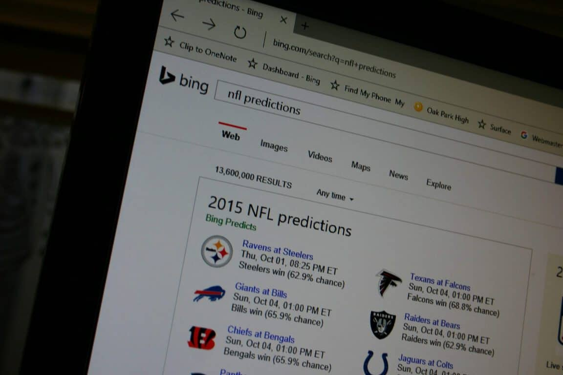 It's football season, and Bing Predicts is ready with