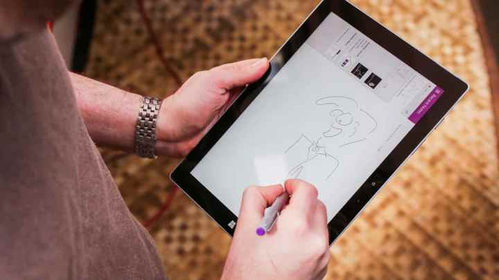 The Surface 3.