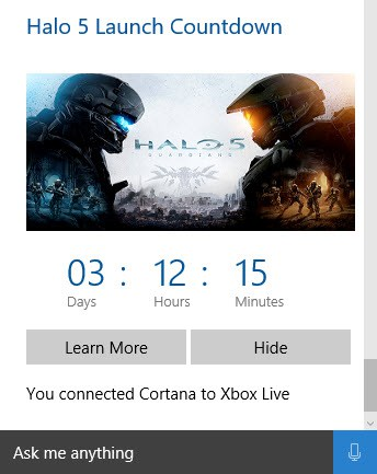 That's right, there's less than four days until Halo 5 hits the street.