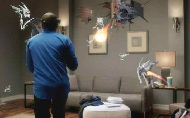 HoloLens XRay (Microsoft image)