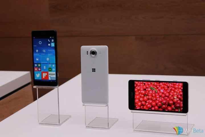 Lumia 950s