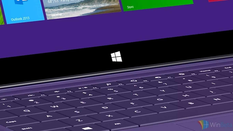 Surface Pro's Windows Button