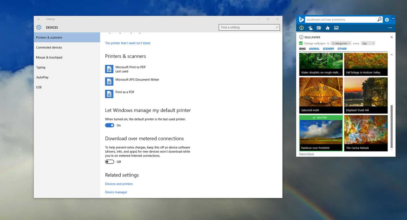 Your default Windows 10 printer can now be the last printer