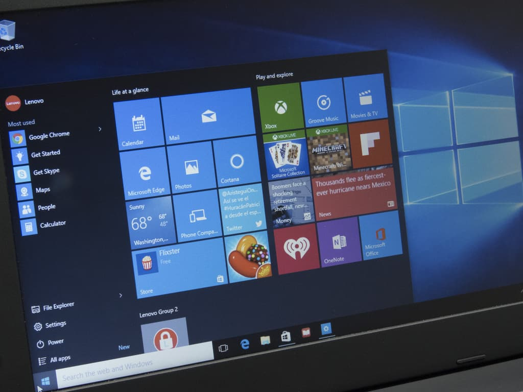 Windows10lenovo