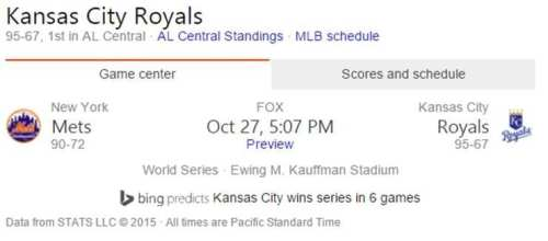 Way to go, Royals!