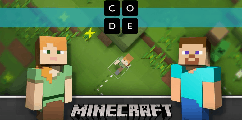 Access Microsoft's Minecraft Hour of Code Designer starting