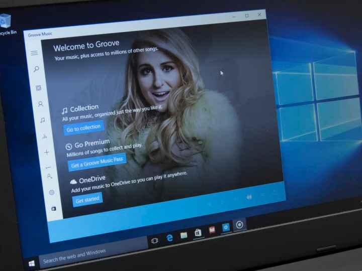 Windows 10 Groove