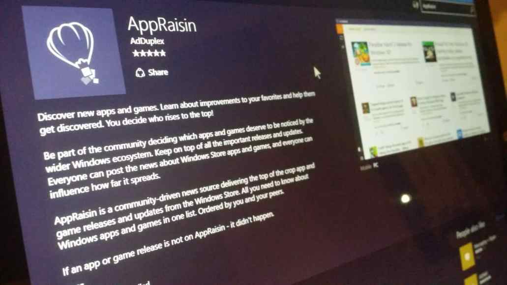 AppRaisin brings hand-picked Spotlight section, Filtering by