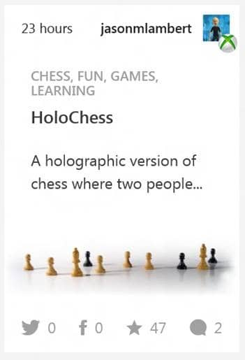 HoloChess sounds absolutely awesome.