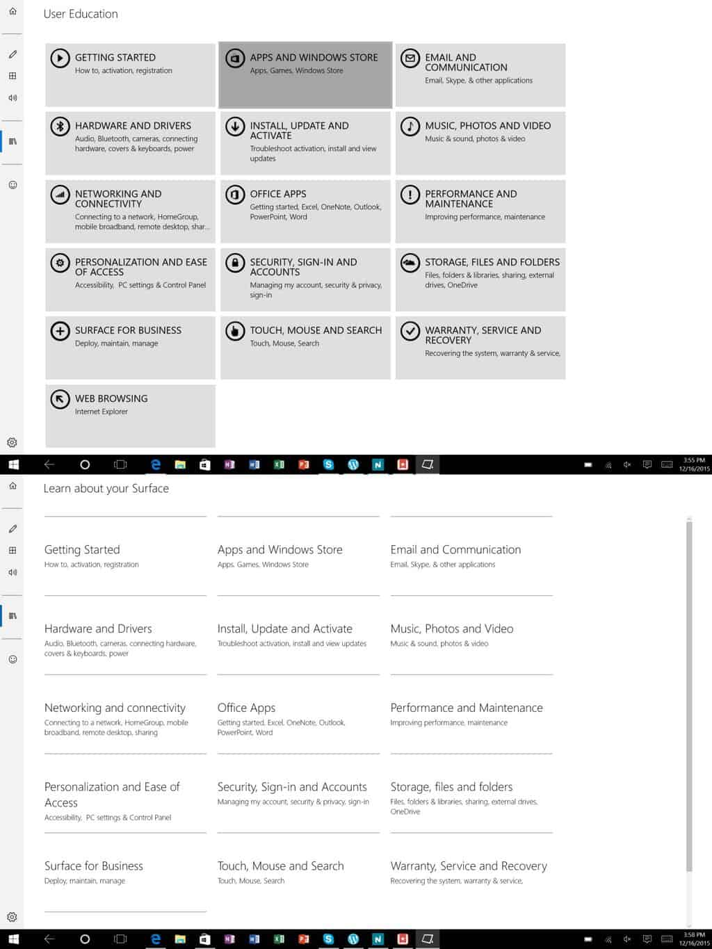 Surface App Update Learn About Surface