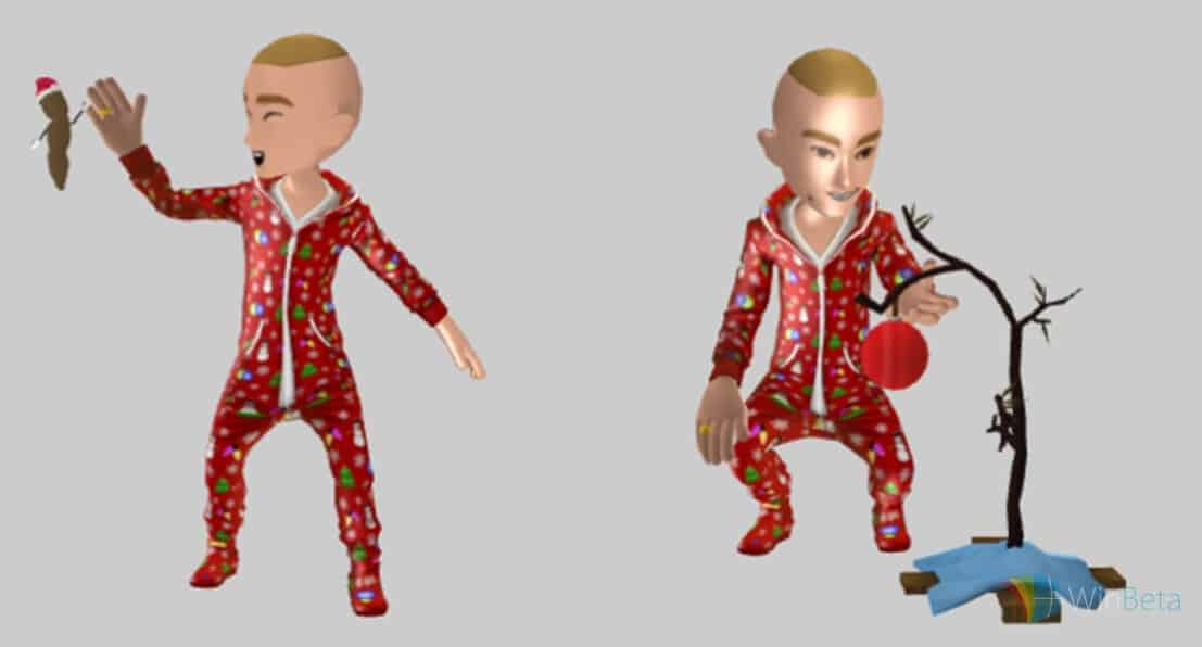 Xbox Christmas Avatar Accessories
