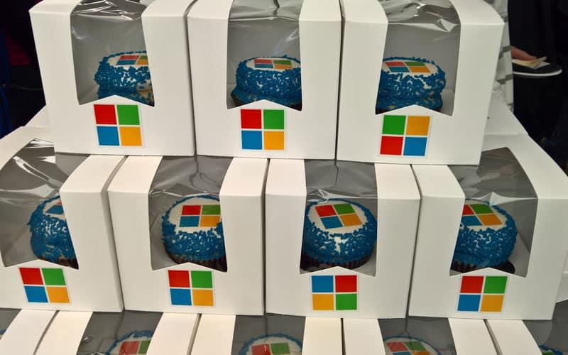 Windows cupcakes