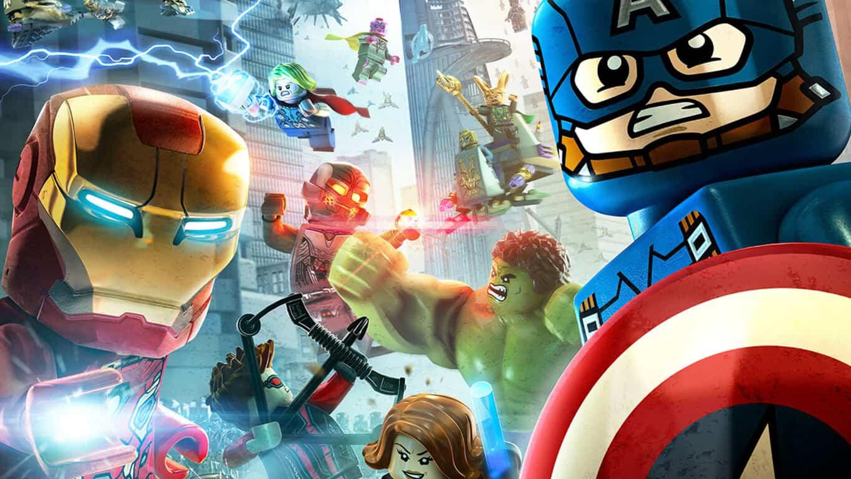 LEGO Marvel's Avengers and Naruto Shippuden Ultimate Ninja