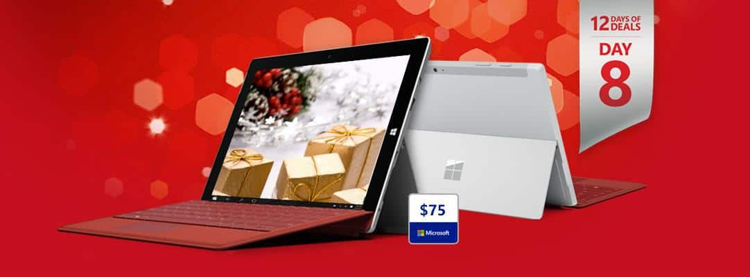 Surface 3 12 Days of Deals