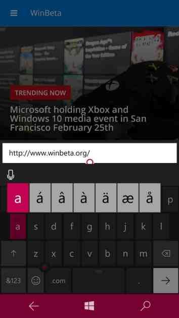 Dissecting Windows 10 Mobile: Using hidden keyboard keys OnMSFT com