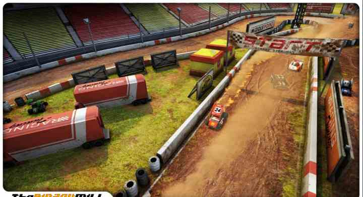 Mini Motor Racing Screenshot