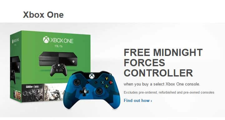Best Buy Free Midnight Forces Controller