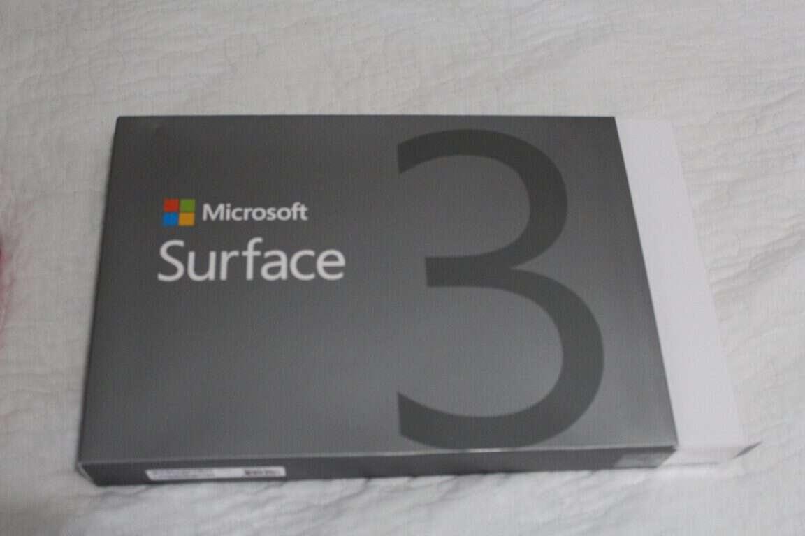 Surface 3 box