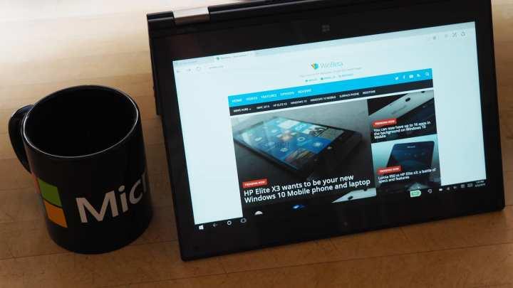 Lenovo ThinkPad Yoga 260 Tent Mode