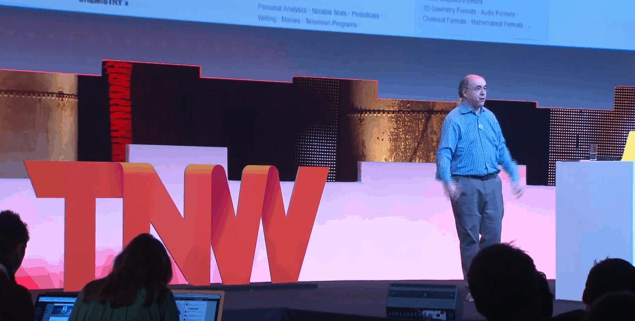 Stephen Wolfram, the founder of Wolfram Research which develops Wolfram Alpha.