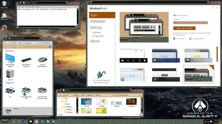 WindowsBlinds 10