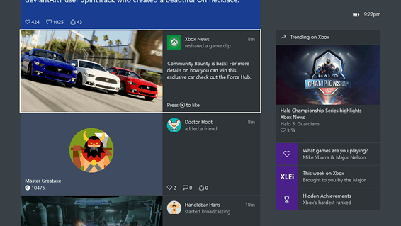 Play videos right in your activity feed