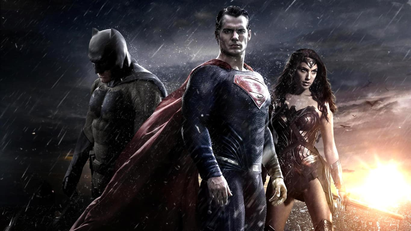 Batman, Superman, and Wonder Woman in Dawn of Justice
