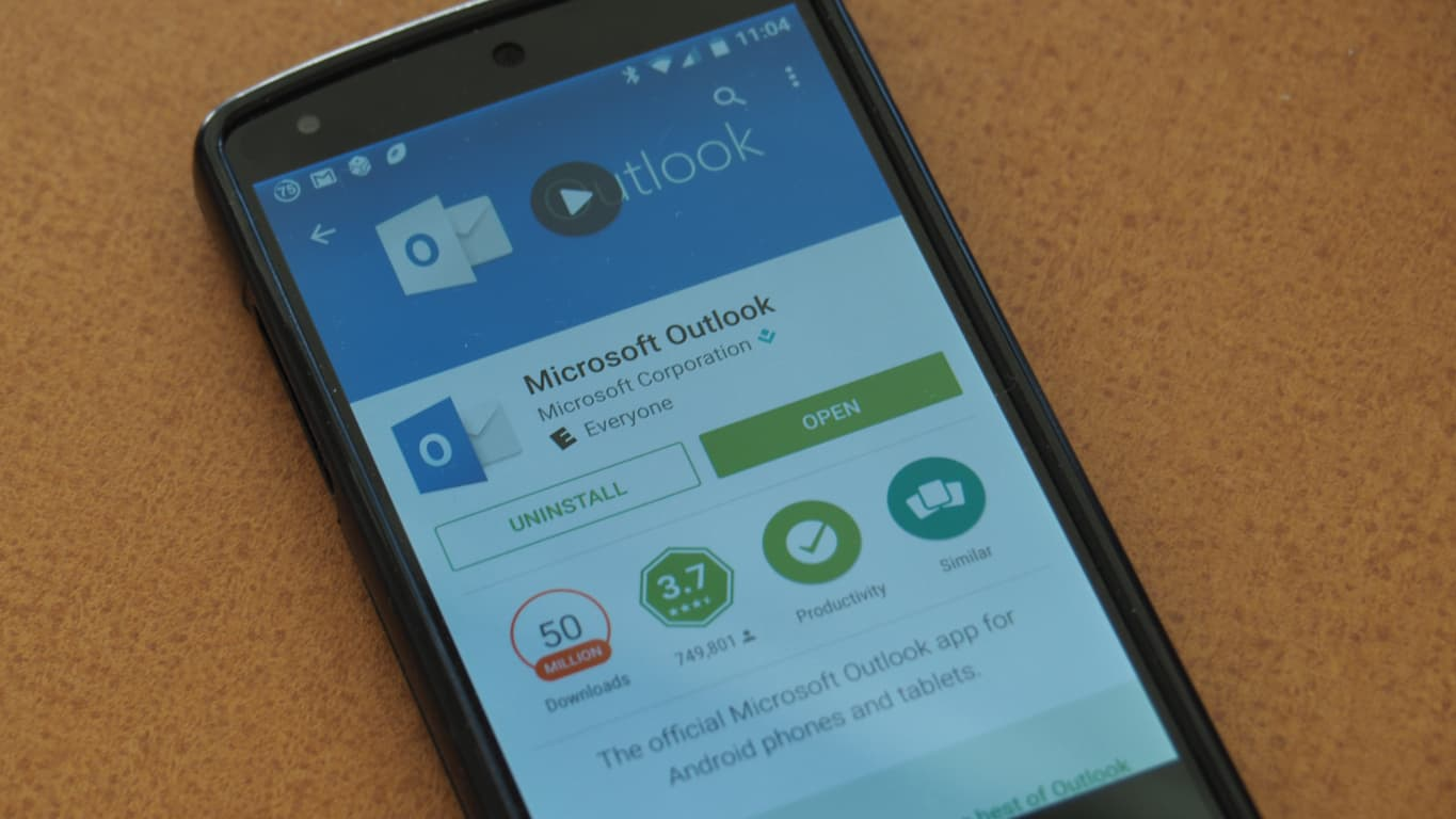 Outlook for Android Update Featured