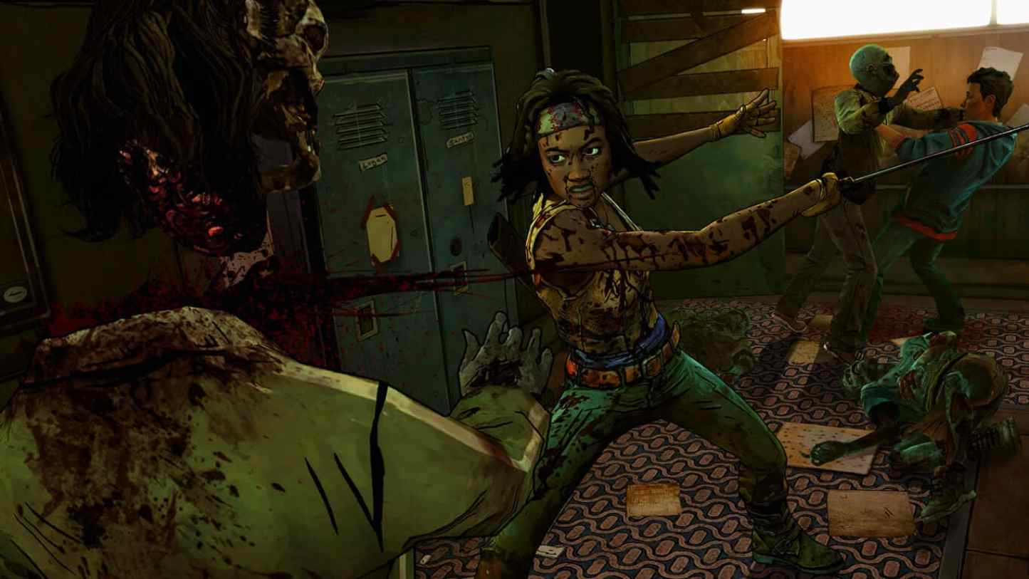 The Walking Dead: Michonne is one of the last big games released on the Xbox 360 this year.
