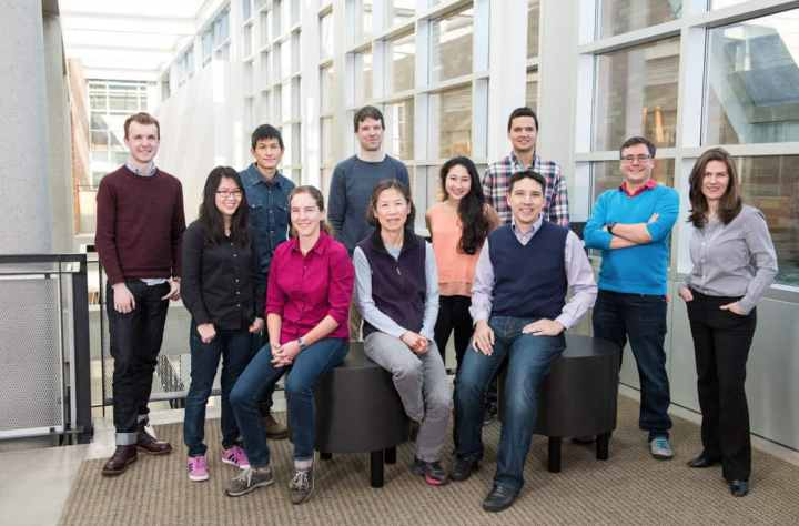 The team of 14 MISL researchers at UW exploring DNA storage.