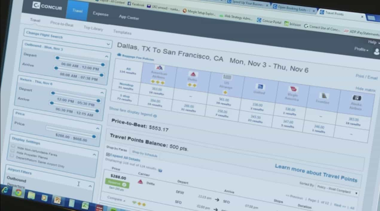 Office 365 now supports Concur's expense and travel booking
